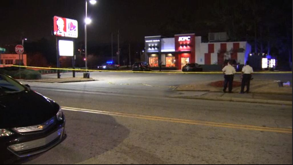 BREAKING: 2 shot in KFC/Taco Bell parking lot, police say