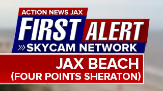Jax Beach (Four Points Sheraton) First Alert Skycam timelapse
