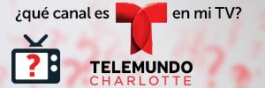 What channel is Telemundo Charlotte on my TV