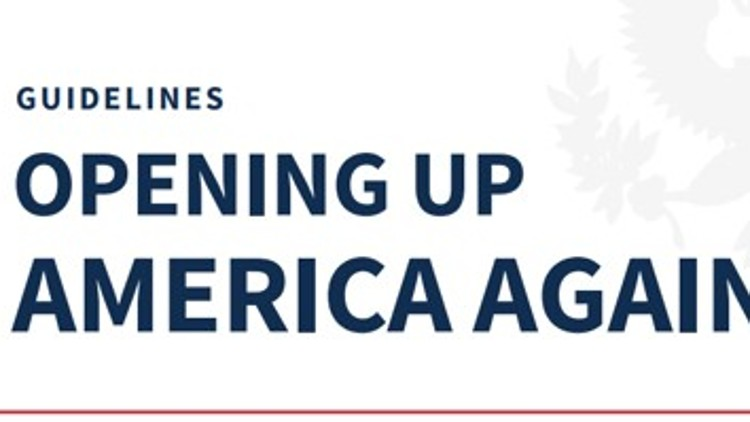 READ THE TRUMP PLAN: Opening Up American Again
