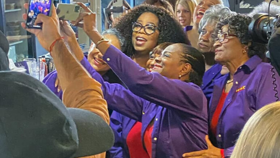 Oprah spotted at Atlanta cafe ahead of wellness tour